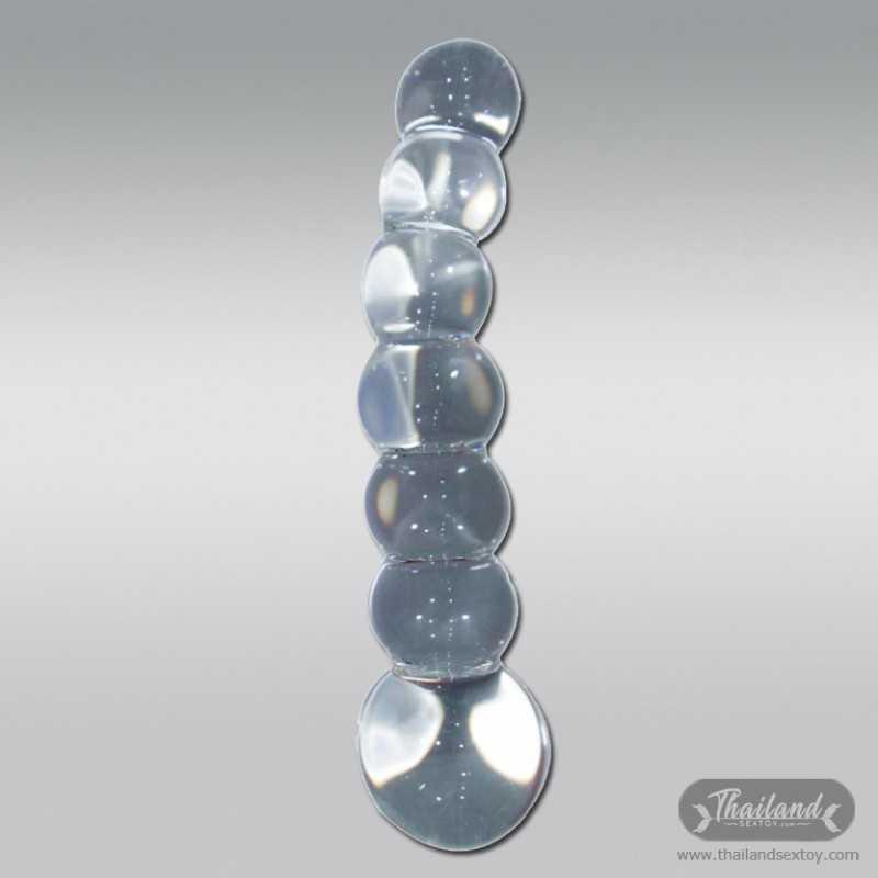 Ultra Beaded Crystal Glass dildo GD-008